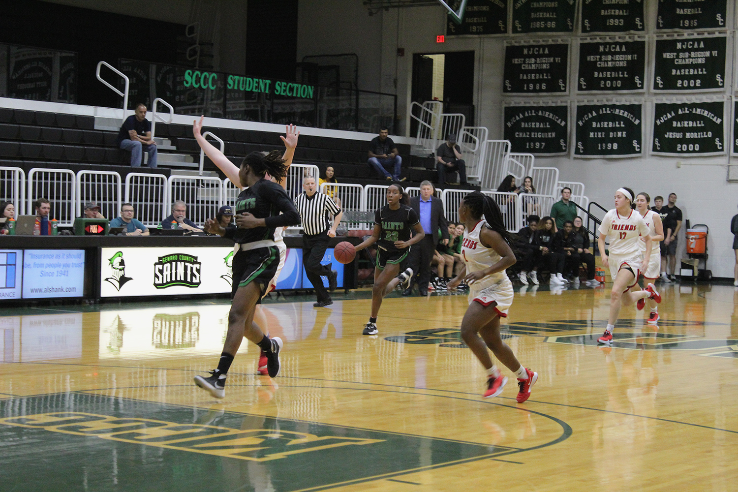 The No. 5 Seward Saints suffer their first loss against Midland College in the opening round of the WNIT on Thursday at Midland. They are 4-1 overall in game play.