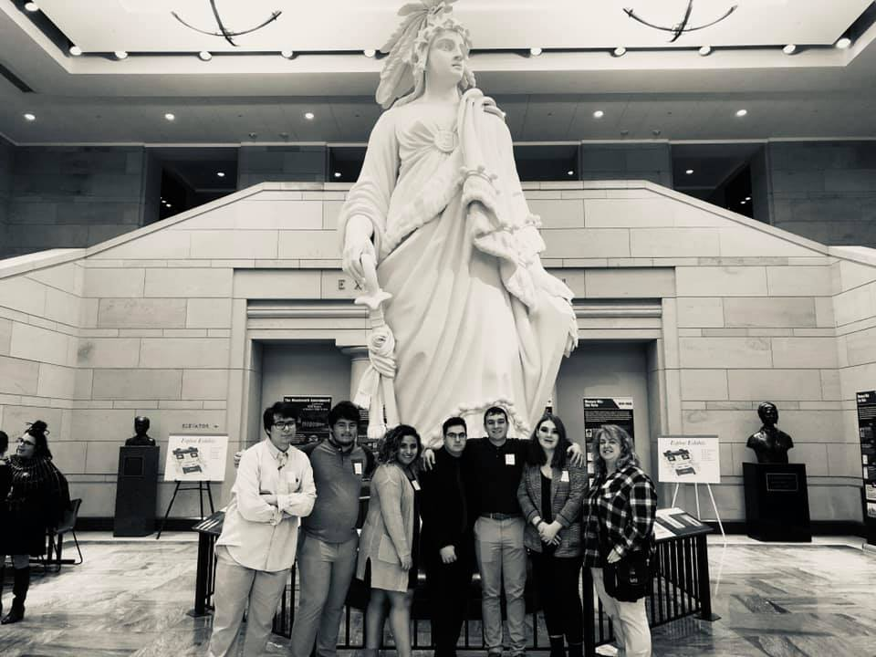 The Crusader News staff took a tour of the Capitol building in Washington D.C. During their tour, they got to see a live meeting of the senate court.