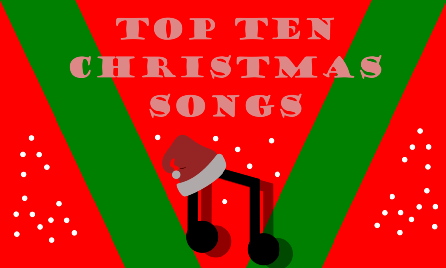 The+top+ten+trending+Christmas+songs+are+perfect+to+listen+to+if+you%27re+wanting+to+get+into+the+Christmas+spirit%21+