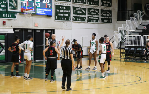 Lady Saints take early lead, never look back