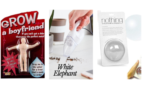 White Elephant gives an opportunity to have fun with a gift giving. There are some great gag gifts out there to entertain and help your gift be the hit of the party.