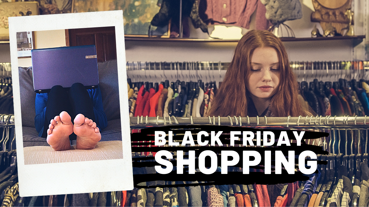 There are two approaches to Black Friday shopping: from the comfort of your home or fighting crowds in the stores. My choice is to be comfortable!