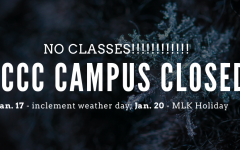 No classes due to weather, holiday