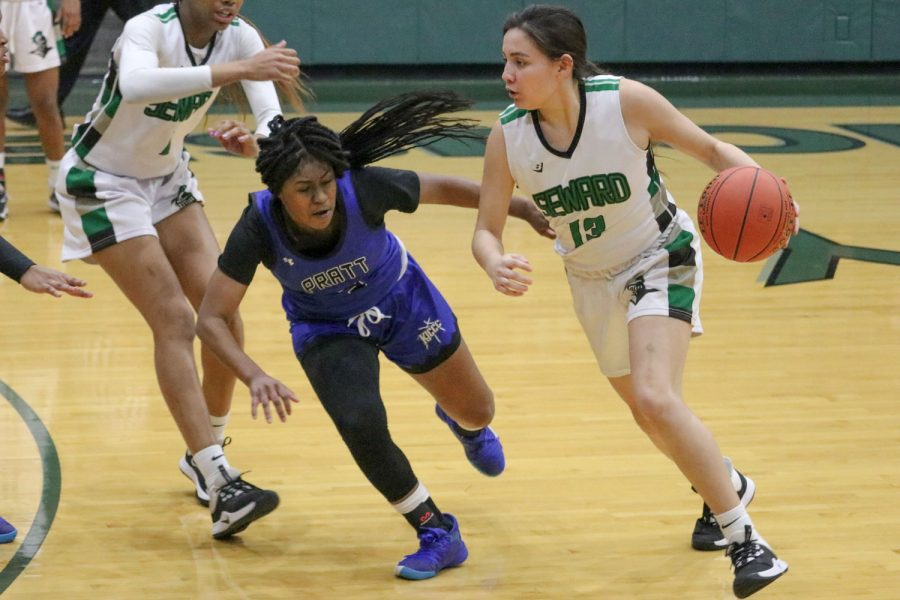 The SCCC women's basketball team won its sixth game in a row Wednesday night at the greenhouse against Pratt Community College. The Saints are now 8-0 in the Jayhawk West and 14-4 overall.