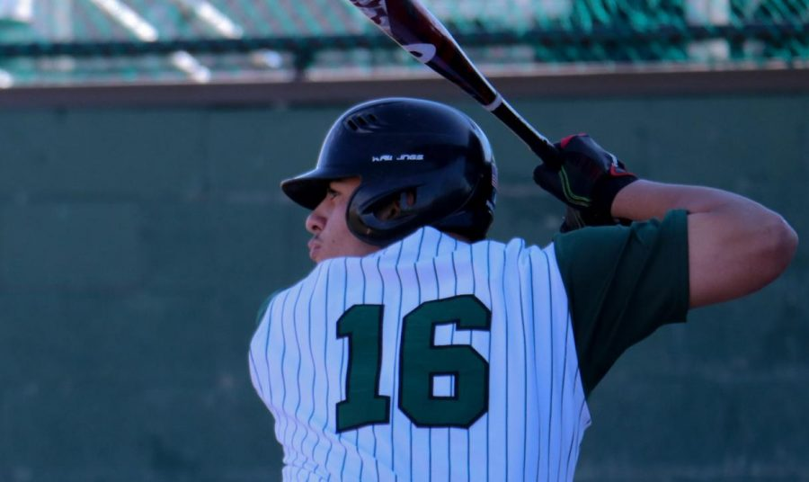 Javier Bojorquez is hitting, he struck out twice during the second game against Iowa Western Community College. Bojorquez is from Liberal and he is a freshman at SCCC.