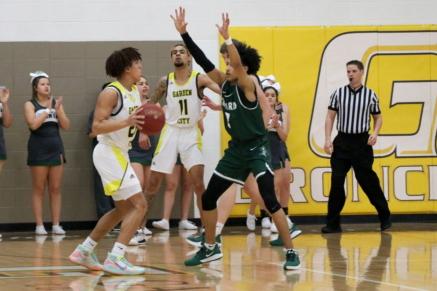 The Seward Saints lost to Pratt Community College on Feb. 8 with a score of 73-84.