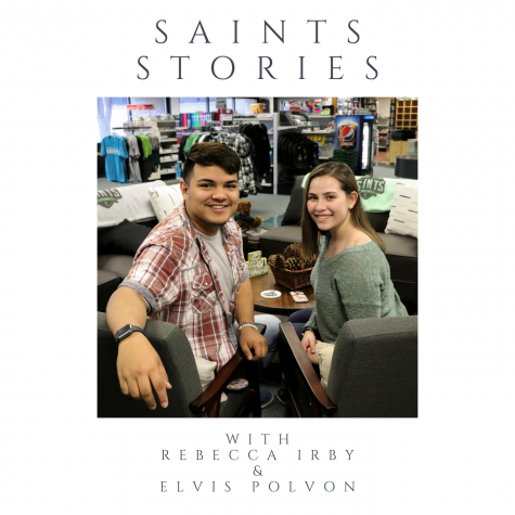 Elvis Polvon and Rebecca Irby bring you Saints Stories as part of Crusader News