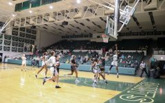 The Lady Saints are playing offense in the playoffs on March 2. (file photo)