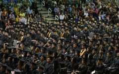 This years commencement ceremony for the class of 2020 will look nothing like this, as cancellations happened due to COVID-19. A video will be uploaded this Saturday however, to recognize the efforts of the graduation class.