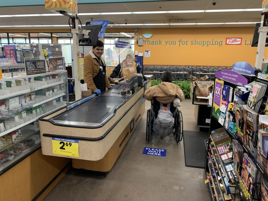 Many people who need groceries have no one else to get it for them. These markers help protect everyone in the store by following CDC recommendations.