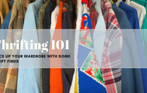 Thrifting is an effective and affordable way to spice up your closet with a flannel, a jacket or a patterned shirt. Buying recycled clothing also helps lower the consumption and production of fast fashion clothing, which affects the environment negatively.