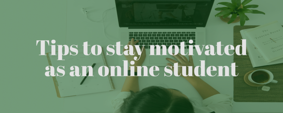 How to stay motivated for online classes