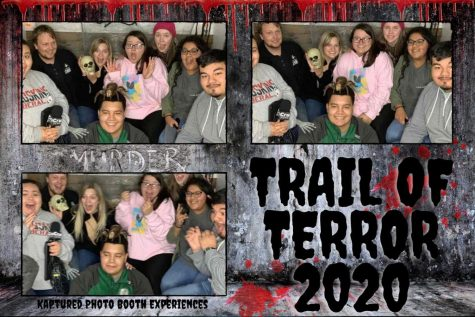 Crusader staff took the Trail of Terror together. Screaming together brings a team closer during the Halloween season.