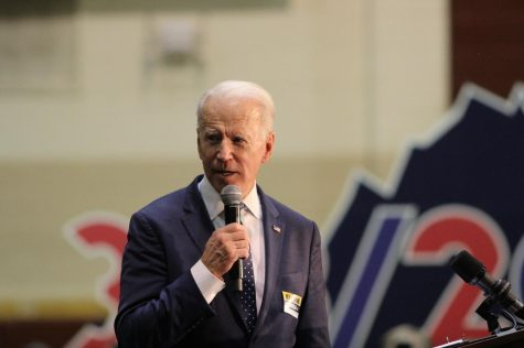 Joe Biden is the Democratic candidate for President. His running mate is Kamala Harris.