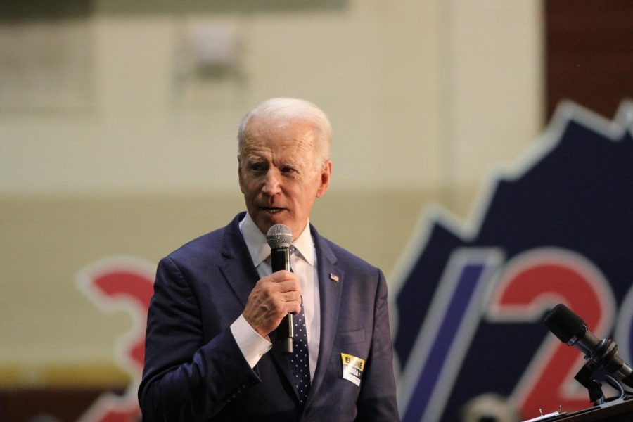 Joe Biden is the Democratic  candidate for President. His running mate is Kamala Harris