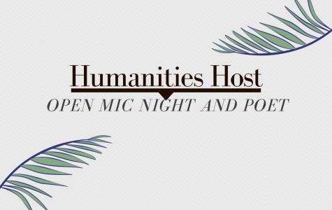 Humanities hosts open mic night, poet