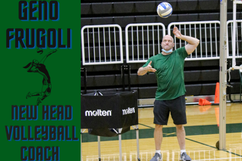 "SCCC welcomes the new head volleyball coach, Geno Frugoli to SCCC. Frugoli is very involved with the team during their practices and hopes to be able Some goals in place for the Seward volleyball team is to win nationals, win regular season games, and definitely ""take this good team and keep them good"""