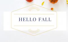Fall in love with seasonal decor