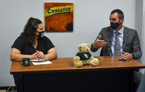 Mary Ramirez interviewed the new SCCC President Brad Bennett.