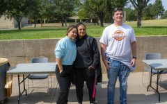 The winners of the 2020 Pepper Eating Contest are Alma Garia, third place, Kenia  Melendez, second place, and Iann Hayes, first place. Twelve students participated in the annual contest as part of Hispanic Heritage Month activities on campus.