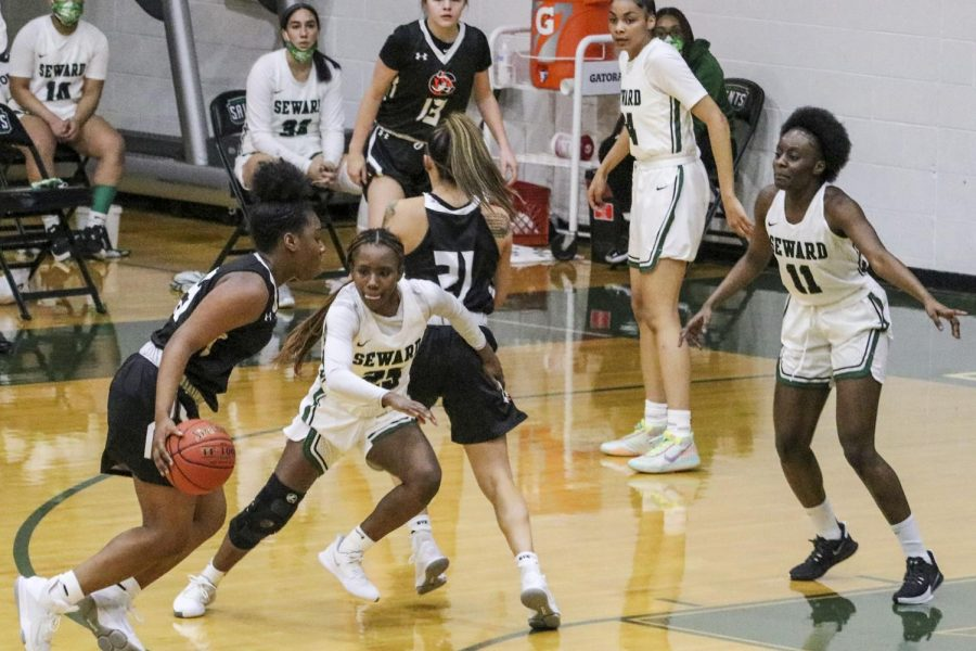 The Lady Saints conquered the Conquistadors after being quarantined after 9 days. The No. 25 lady Saints will be playing against Garden City Community College on March. 3 (file photo)