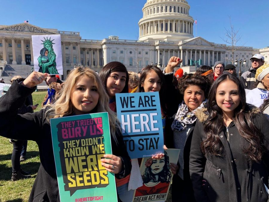 Janeth+Vazquez+is+a+local+advocate+and+teaches+the+citizenship+classes+at+Seward+County+Community+++College.+Vazquez+has+been+part+of+numerous+protests+and+orginaztions+that+help+support+DACA+awareness+and+pathways+to+citizenship.+Dreamers+like+Sarahi+Aguilera+had+come+to+Washington+D.C+to+help+advocate+not+only+for+DACA+but+for+the+rights+of+undocumented+immigrants.+Aguilera+is+a+recent+graduate+of+Seward+County+Community+College++and+is+a+advocate+for+the+community.++She+celebrates+and+hopes+that+the+American++Dream+and+Promise+Act+will+help+all+11+million+undocumented+immigrants.+