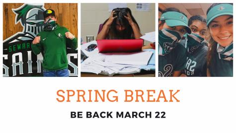 Seward takes spring break