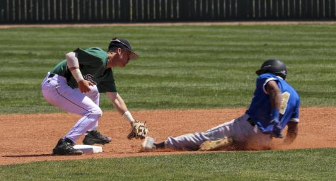 Baseball wins two, moves into second place