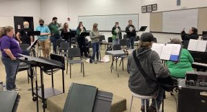 After a year of not having any theater productions, the SCCC humanities will now put on a Broadway Revue. Students former and current have picked songs from various popular shows. The Broadway Revue will be from April 22-24 at 7pm.
