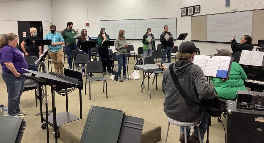 After a year of not having any theater productions, the SCCC humanities will now put on a Broadway Revue. Students former and current have picked songs from various popular shows. The Broadway Revue will be from April 22-24 at 6pm.