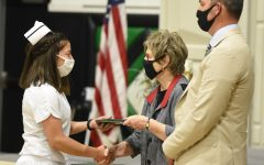 Nursing students received had a ceremony by themselves on May 7. They walked across stage receiving their degrees while also doing the traditional capping and pinning ceremonies.