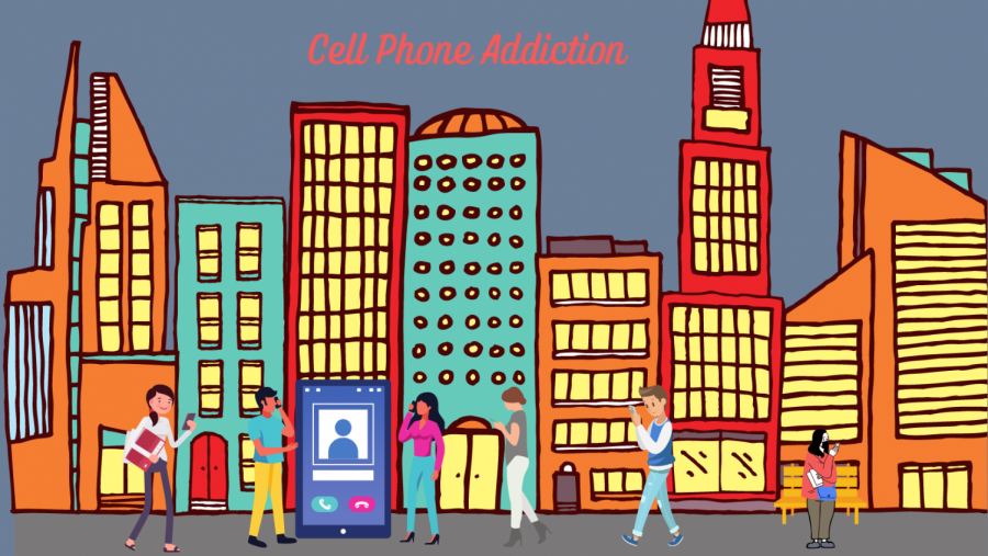 Students admit phone addictions