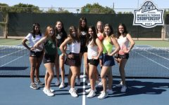 The Lady Saints tennis team placed fifth at the National NJCAA tournament in Mesa, Arizona.