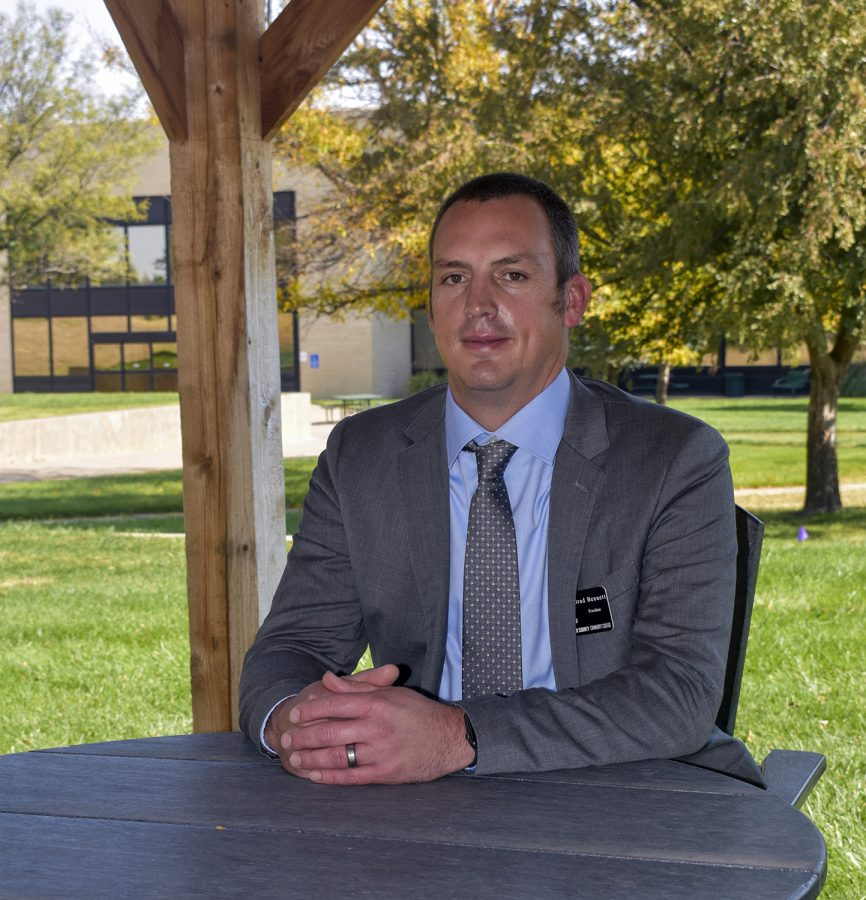 Brad Bennett resigned this week as president at Seward County Community College. He began the job back in October 2020 in the midst of a pandemic.