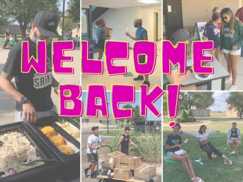 Welcome week will keep you busy
