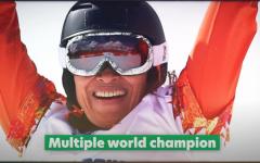Dutch Paralympic snowboarder Bibian Mentel