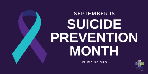 September is Suicide Prevention Month which goal is to spread awareness and inform individuals about ways to seek help and to learn about ways to prevent suicide.