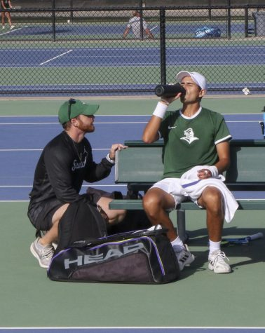 Mitch Vechione is the head coach for the Tennis team.