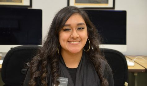 Melissa Gonzalez is from Hugoton Kansas. Her major is cosmetology, and she is a freshman this year.