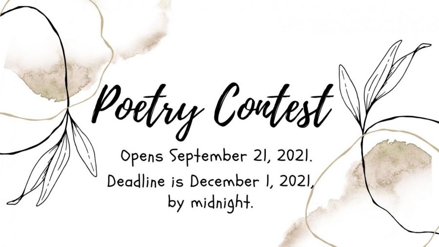 Poetry contest open for entries