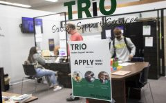 TRIO is a federally funded grant program that helps student in college. They offer tutoring, help navigating college and enrollment, transfer help and much more. The SCCC TRIO offices are located at A125, or across the hall from financial aid.